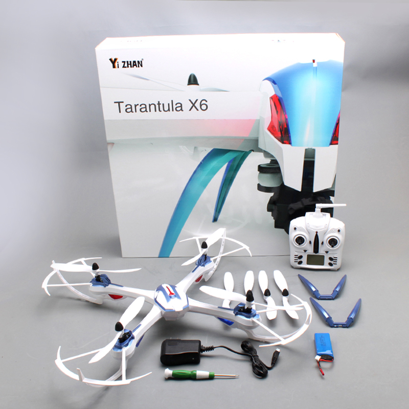 YiZhan JJRC Tarantula X6 Drone 2 4G 4CH 6 Axis RC Quadcopter Helicopter Toys With 2MP