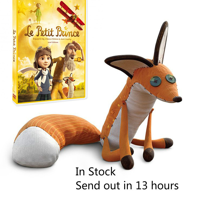 16inch/24inch Movie Le Petit Prince The Little Prince Fox Plush Doll Stuffed Toys education toy for baby<br><br>Aliexpress