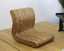 Handmade Japanese Floor Legless Chair Made From Banana Leaves Sitting Room Furniture Asian Traditional Tatami Zaisu Chair(China (Mainland))