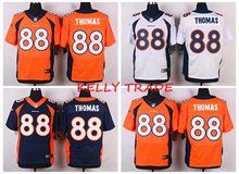 100% Stitiched,Denver Bronco Demaryius Thomas for mens(China (Mainland))