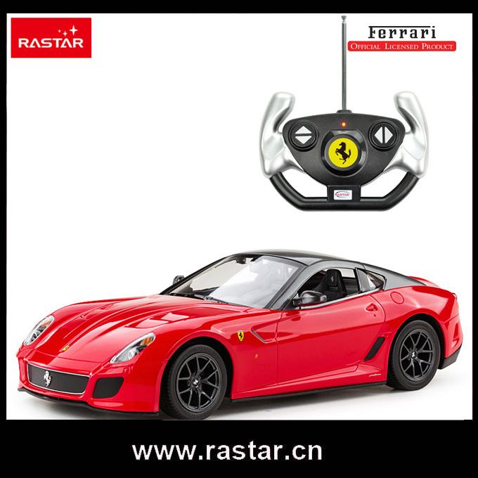 Rastar licensed 1:14 Ferrari 599 GTO with front light and rear light rc drift car 47100(China (Mainland))