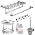 Space Aluminum 6 Piece Bathroom Accessory Set