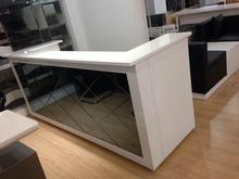 hot sale  wholesale  beauty salon modern used U shaped reception desks counter reception furniture decoration #QT2418(China (Mainland))