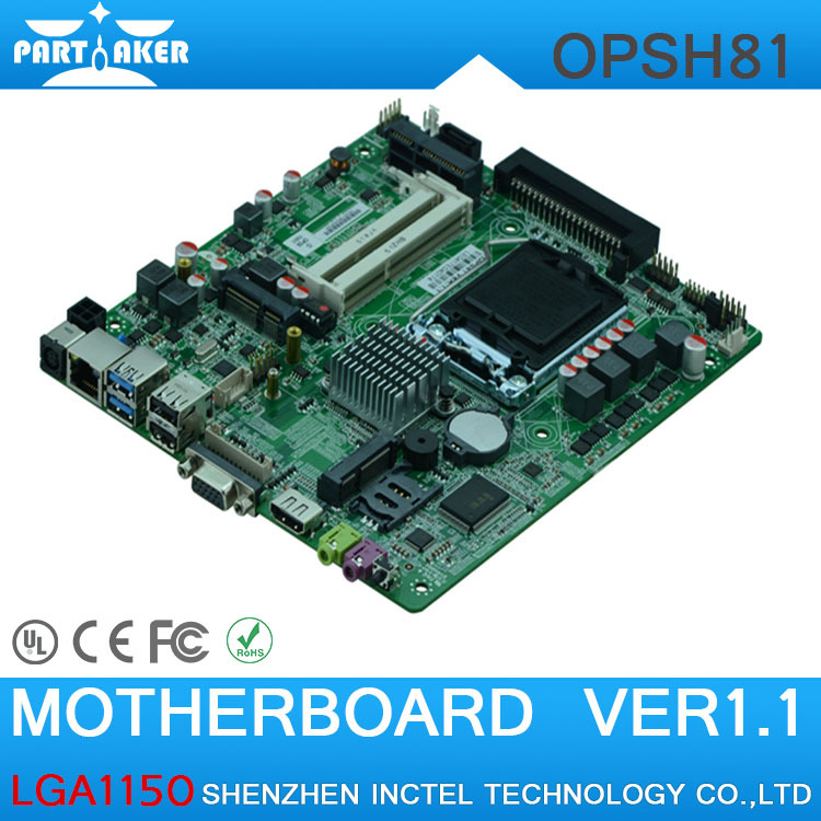 LGA1150 Motherboard Haswell four generations OPS HD playback Motherboard Industrial Motherboard<br><br>Aliexpress