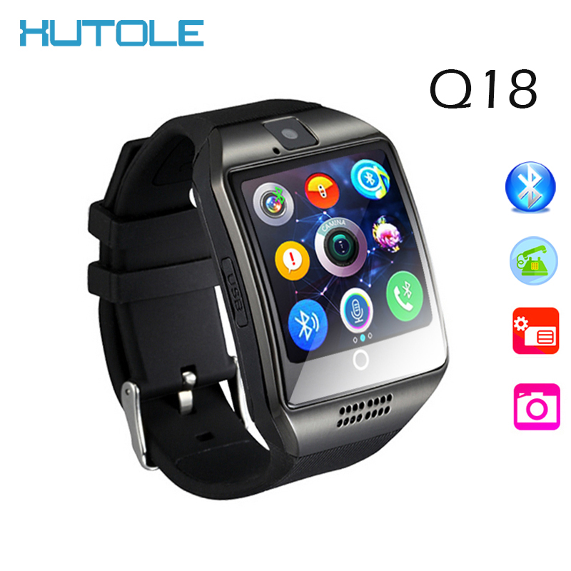 Smart Watch Q18 Wristwatch with SIM card Bluetooth Smartwatch Touch Screen Camera Wearable Devices For iPhone iOS Android Phones(China (Mainland))