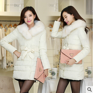 Здесь можно купить  Winter jacket women Winter new long sections thick warm luxurious fox fur collar down jacket padded coat ovo women parkas DM845  Одежда и аксессуары