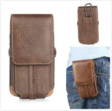 Luxury Stone pattern pu Leather Waist Bag Clip Belt Pouch Cover Case Asus Zenfone 2 Laser ZE500KG/ ZE500KL/ ZE551KL/ ZE600KL - FSSOBOTLUN SOBO Store store