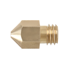 With Real Tracking Number 5pcs/lot 3D Printer Nozzle 0.3mm/0.35mm/0.4mm/0.5mm Brass M6 nozzle For 1.75mm/3mm MK8 Makerbot