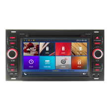 Car DVD Player GPS Navigation System For Ford Focus 2004 2005 2006 2007 2008 TPMS Mobile Link BT Radio AUX iPod 3G WIFI RDS