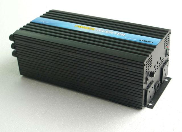 Off grid CE&RoHS Approved, DC24v AC220v/230v/240v 4000w/4kw pure sine wave power invertor/solar inverter,  dc converter