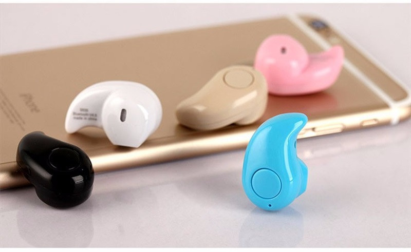 RACAHOO Small Stero S530 Bluetooth Earphone 4.0 Auriculares Wireless Headset Handfree Mic for Xiaomi Samsung Smart Mobile Phone