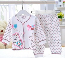 2016 free shipping brand babys cotton sleepwear Despicable pyjamas girls Minnie clothing kids pajama 1sets retail(China (Mainland))
