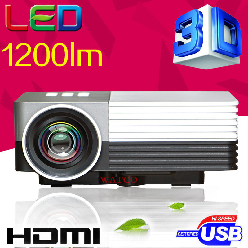 2014 Newest UC30 Mini Pico portable proyector Projector AV VGA A/V USB SD with VGA HDMI Projector gm50 projetor beamer Wholesale<br><br>Aliexpress
