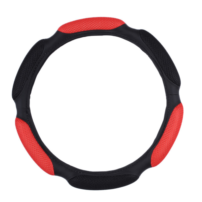 Rushed Volante Momo Steering Wheel Sandwich Sport Type Car Steering Wheel Cover Anti-slip 38cm Winter High Quality Covers(China (Mainland))