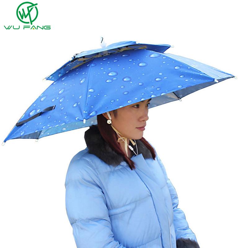 Rain Gear Summer New creative Sun/Rain solid doubl...