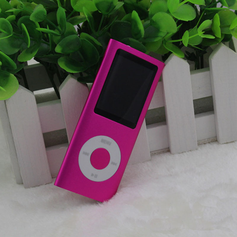 The new wholesale sale 4 generation 1.8 Inch apple MP4 Mini MP4 custom 2-16G free shipping Long standby Support text reading(China (Mainland))