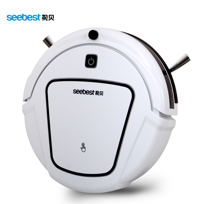 Dry Automatic Rechargeable Cheap Robot Vacuum Clean with two side brush,Edge Clean Time Schedule, Seebest D720 MOMO 1.0(China (Mainland))