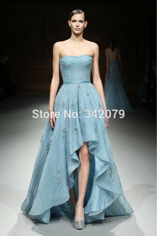 ph15543 off shoulder Beaded Real Coral Long Evening Dress tony ward couture Formal Dresses Backless Sexy Long Prom Dresses 2015(China (Mainland))
