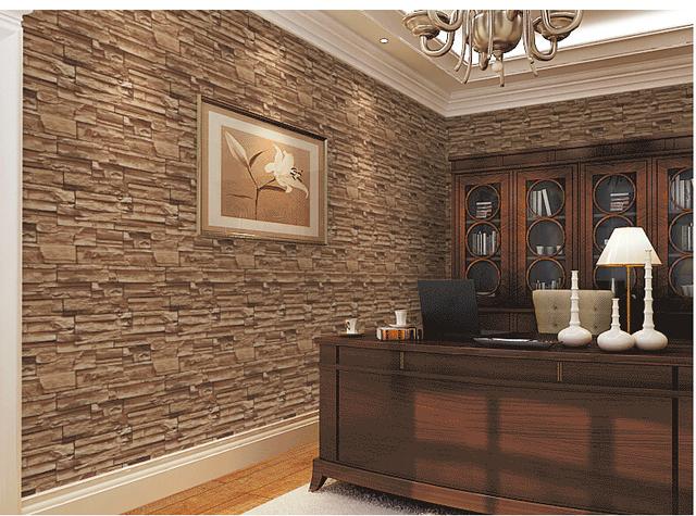 3d salle manger pierre brique conception rev tement for Fausses pierres murales