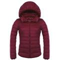 Kadın aşağı ceket kapüşonlu kürk kadın kış parka ile camperas mujer invierno manteau femme hiver SBK229