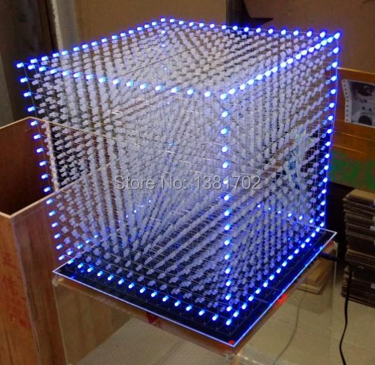 Letoo 3D16 из светодиодов куб