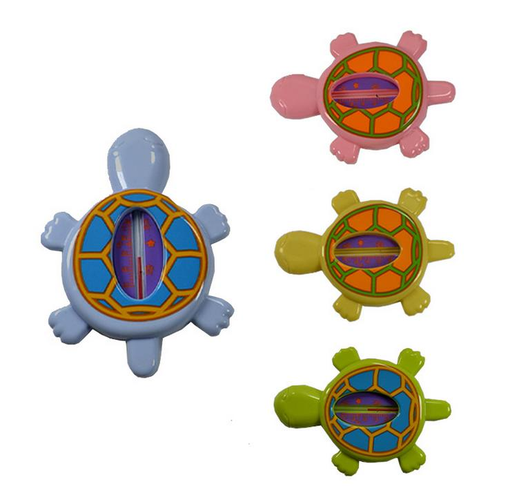 Cute Cartoon Tortoise Shape Baby Care Water thermometer Floating Bath Toy 20 pcs/lot Wholesale(China (Mainland))