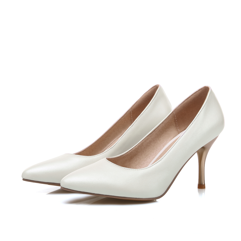 White High Heels - Is Heel