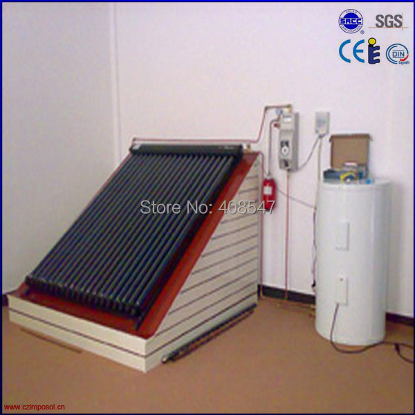 Solar Keymark split high pressure solar heating system(China (Mainland))