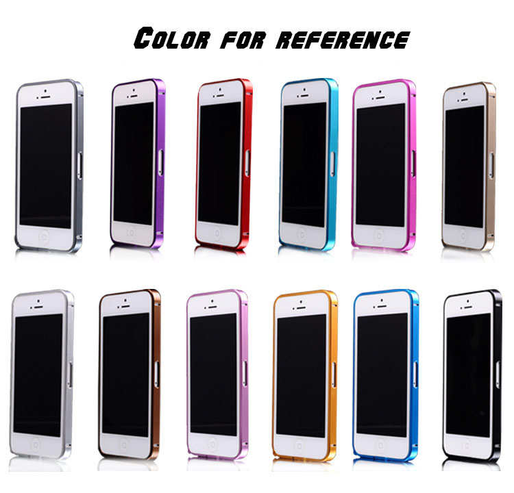 New arrival 0.7mm Ultra thin Cross Line Case Aluminum Bumper case For iPhone 5 5S 100pcs/lot(China (Mainland))