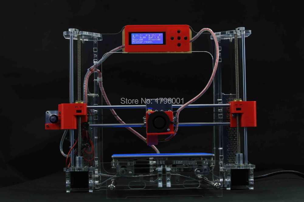 Acrylic Frame LCD Screen Acquired Reprap Prusa i3 desktop 3D Printer Machine High Precision impressora DIY