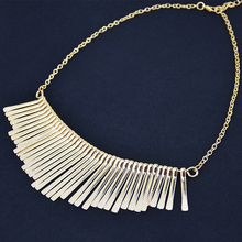 Fashion Jewelry Alloy Tassel Boho Necklace Women Statement Pendants Bib Choker Necklace Bijoux Collier Femme Collares Mujer (China (Mainland))