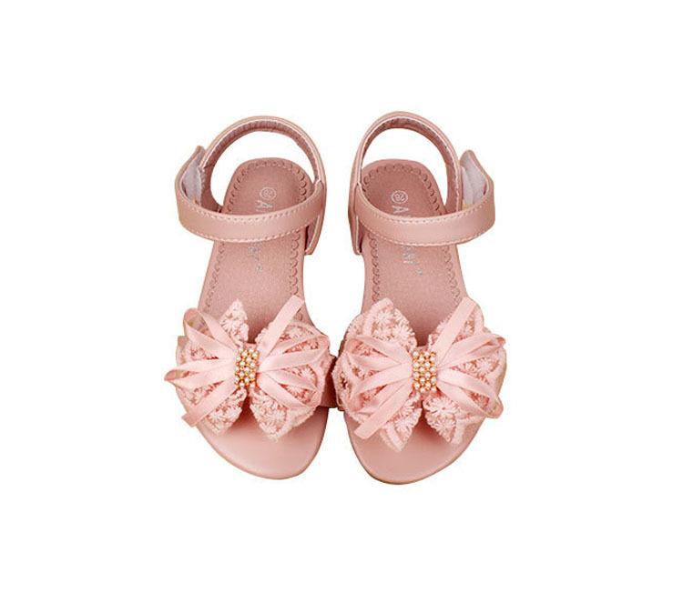 Girl Sandale Enfant Big Princess Love Bowtie Girls Sandals 2015 Fashion Summer Beautiful Shoes<br><br>Aliexpress