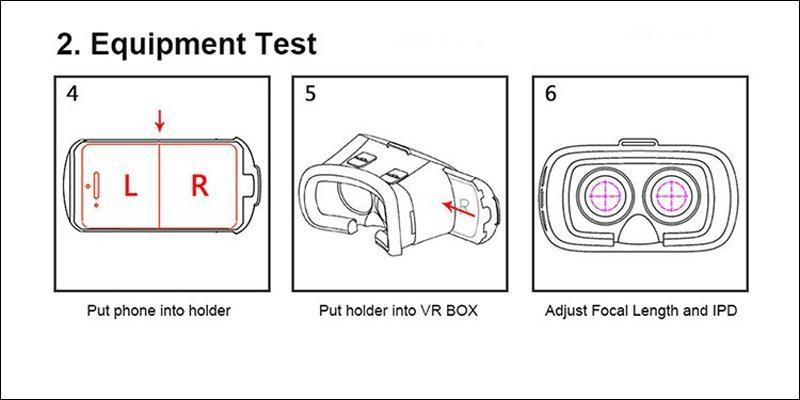 ถูก เดิมVRกล่อง2 3Dแว่นตาอัพเกรดรุ่นความจริงเสมือนแว่นตา3Dวิดีโอสำหรับip honeมาร์ทโฟน+บลูทูธควบคุม
