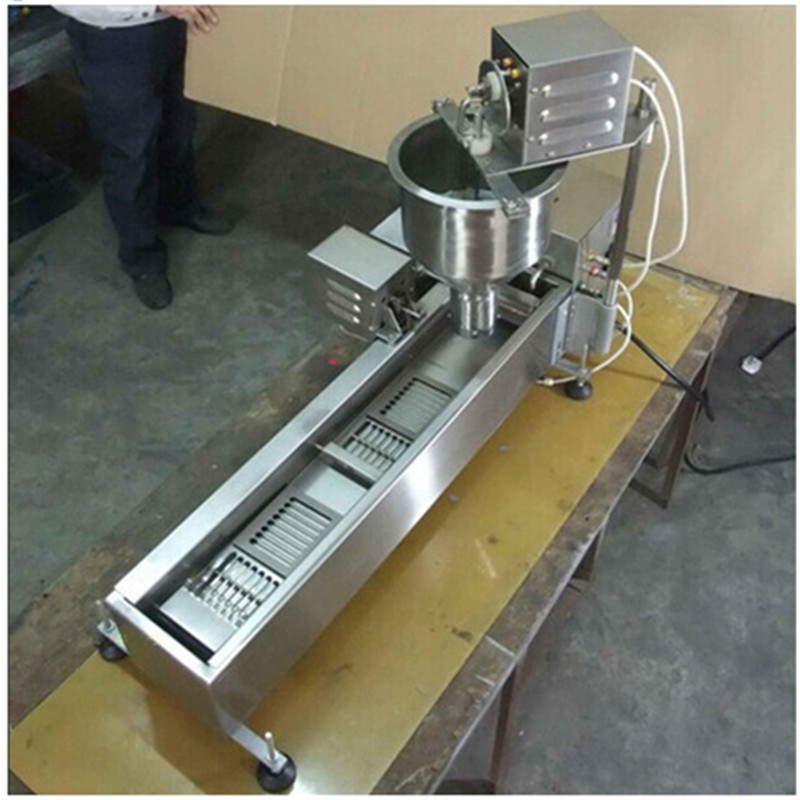 Commercial automatic donut machine doughnut fryer machine ZF(China (Mainland))