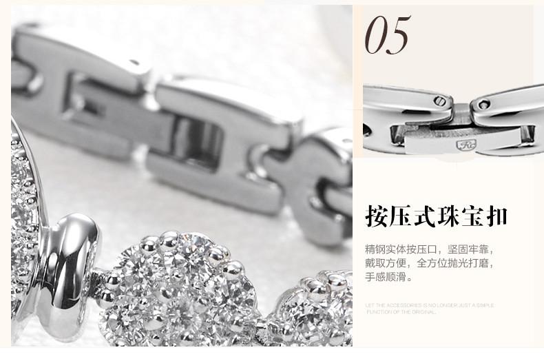 Ювелирные изделия Леди женские Часы Япония Кварцевых Часов Лучший Моды Платье Браслет Роскошные Стразы Bling CZ Девушка Подарочной Коробке 5308