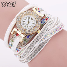 Women Watch Relogio Feminino Leather Bracelet Wristwatch Dress Watches Quartz Watches Fashion Casual Watch 1794