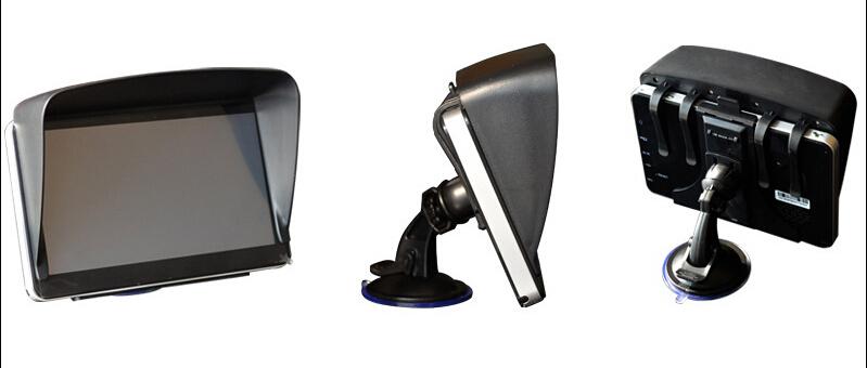 Черный 7 дюймов автомобильной навигации Gps навес с антибликовым покрытием аксессуары-части экран Gps солнце зонтик навигатор бесплатная доставка