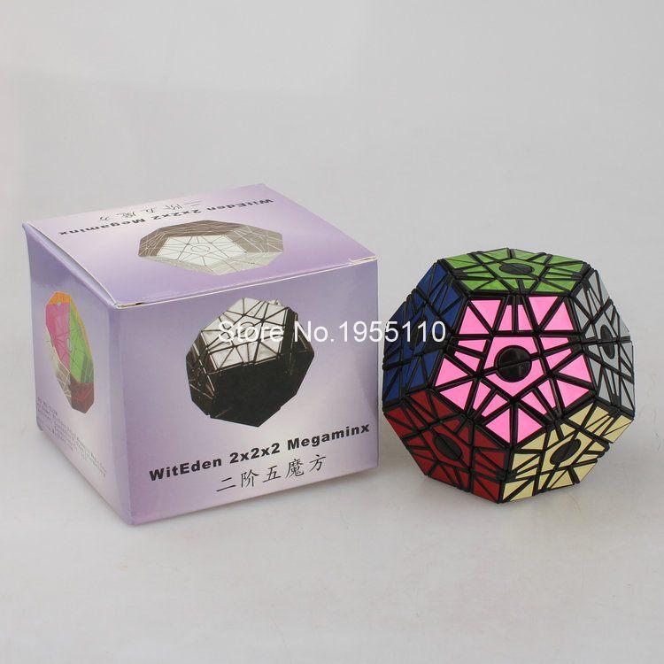 WitEden Megaminx Stickerless Magic Cube Speed Puzzle Cubes<br><br>Aliexpress