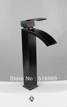 Buy Tall New Brand Deck Mount Single Handle Oil Rubbed Bronze Tap Bathroom Basin Sink Mixer Faucet LS 0031 for $75.00 in AliExpress store