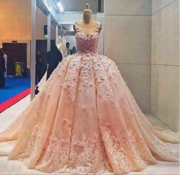 Compare Prices on Big Ball Gown Wedding Dresses Pink- Online ...