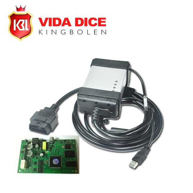 2016 Newest Version 2014D Vida Dice for Volvo Professional Universal Diagnostic Tool for Volvo With Green Board Free Shipping