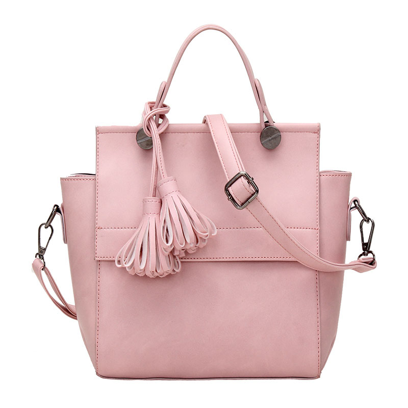 RoyaDong 2016 Women Shoulder Bags High Quality Pu Leather Handbags Fashion Small Trapeze Handbag Tassel Brand Tote Bag Bolsas <br><br>Aliexpress