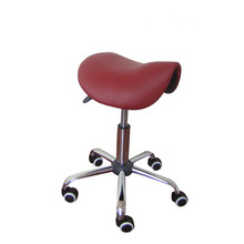 Rolling Massage Chair Saddle Stool Leather Upholstery Portable Pedicure Salan Spa Tattoo Facial Beauty Massage Swivel Chair(China (Mainland))