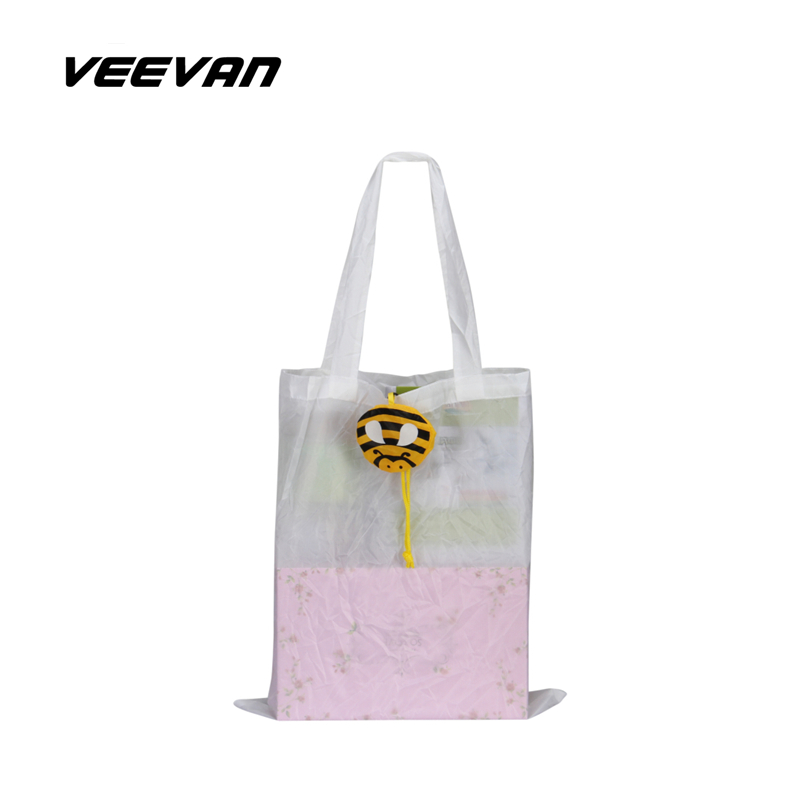 VN foldable reusable shopping bag wholesale shopping bags square pocket candy color animal bag tote women shoulder bags(China (Mainland))