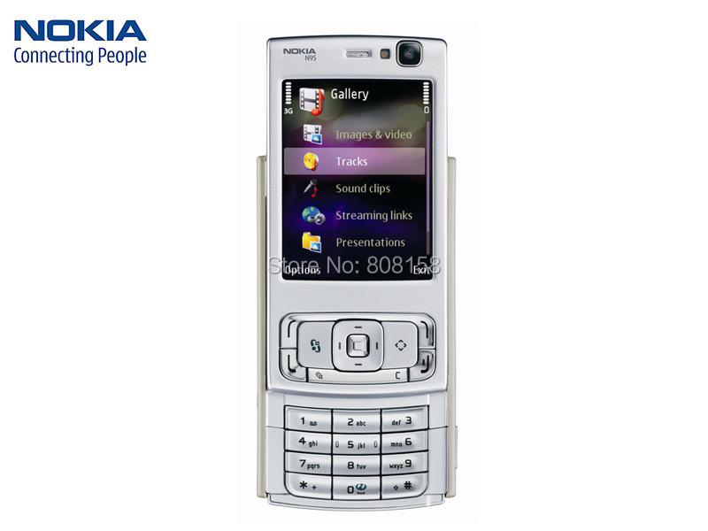Original Unlocked Nokia N95 8GB 3G Mobile Phone WIFI GPS 5MP camera 2.8 inch TFT Screen WIFI 8GB internal FREE SHIPPING(China (Mainland))
