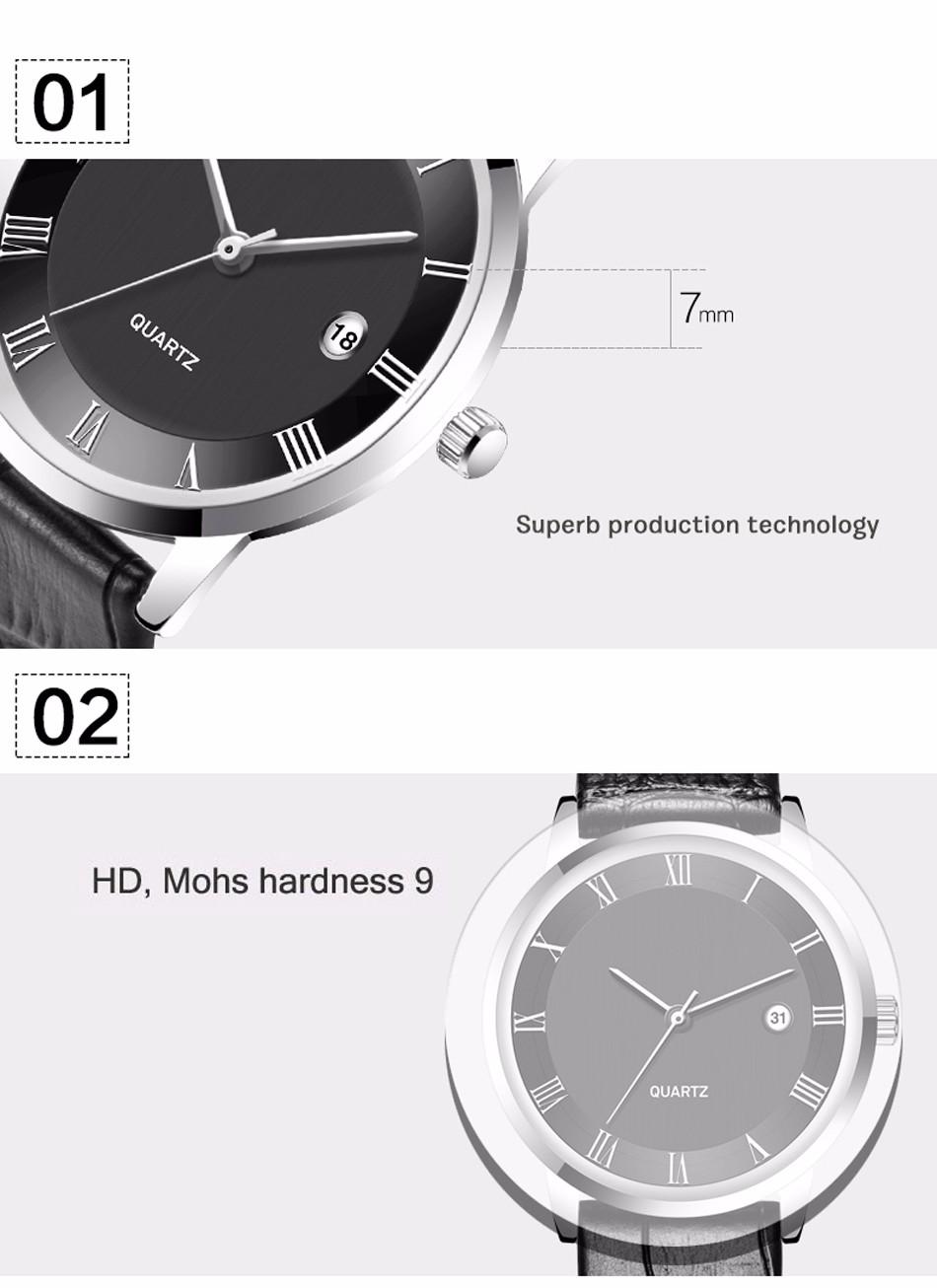 2016 Новый Бренд TTLIFE Кварцевые Часы Моды для Женщин, Тонкий 7 мм Мужские Часы Бизнес-мужские Часы Лучший Бренд Класса Люкс кварцевые-часы Часы