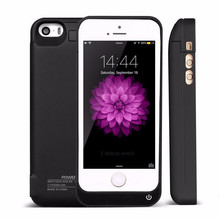 4200mAh Case Charging for Apple iphone 5 5s 5c SE External Rechargeable Battery Charger Case Power Bank Cover for iphone 5 5s 5c(China (Mainland))