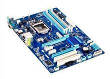 Z77P-D3 рабочего материнская плата поддержка 1155 булавки cpu/USB3/SATA3/