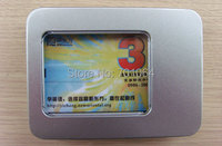 Free shipping : 10units 16gb 8gb 4gb memory  Credit card usb flash drive with metal package
