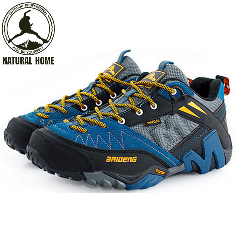 [NaturalHome] Brand Professional Outdoors Sport Shoes Climbing Shoes Outdoor Walking Hiking Shoes Men Botas Trekking Sneaker(China (Mainland))